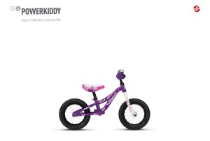 GHOST POWERKIDDY AL 12 K violet / star white / fuchsia pink 12