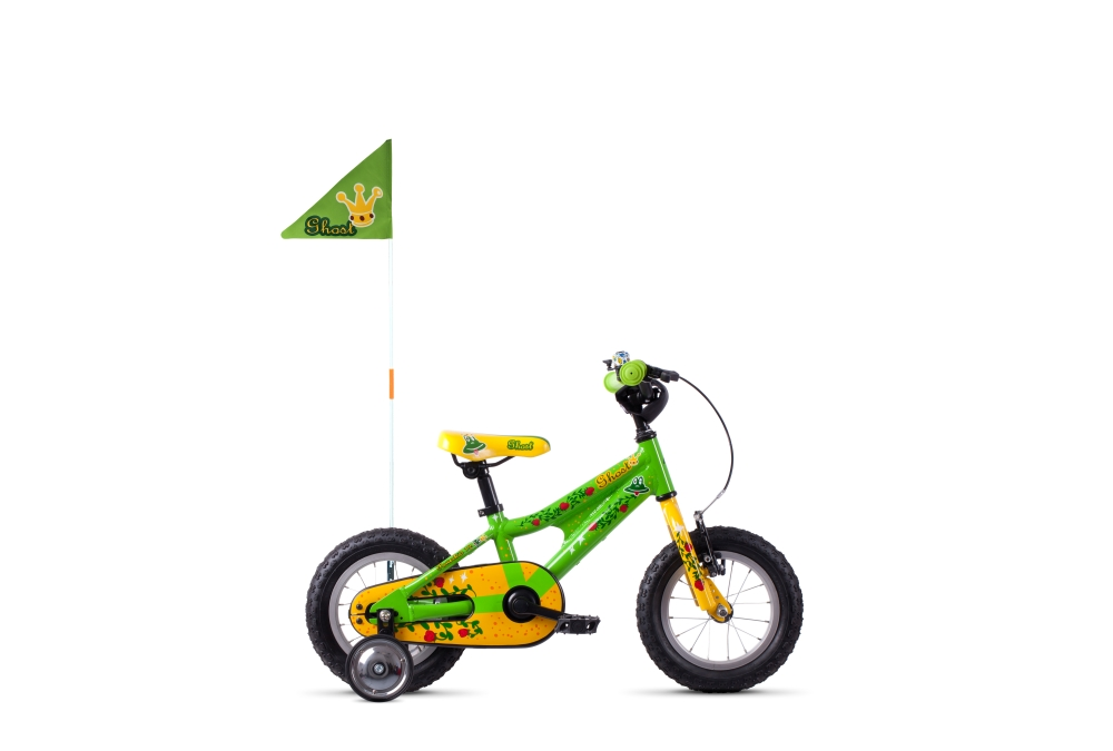 GHOST POWERKID AL 12 K riot green / cane yellow / riot red 12