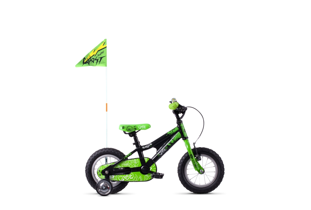 GHOST Powerkid AL 12 K black / green 12