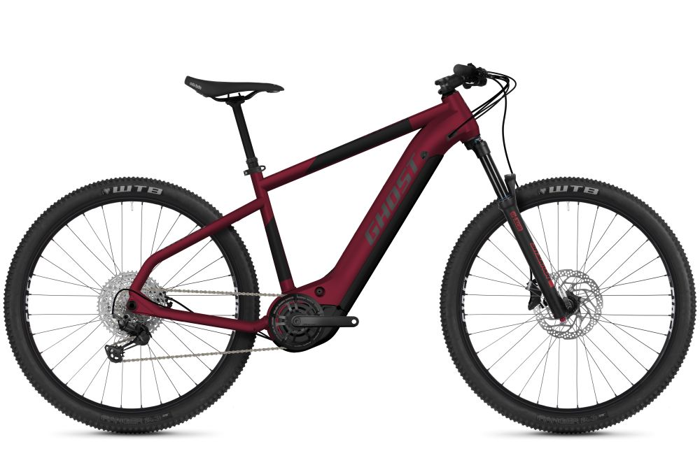 GHOST E-Teru Advanced 27.5 cherry / black XL